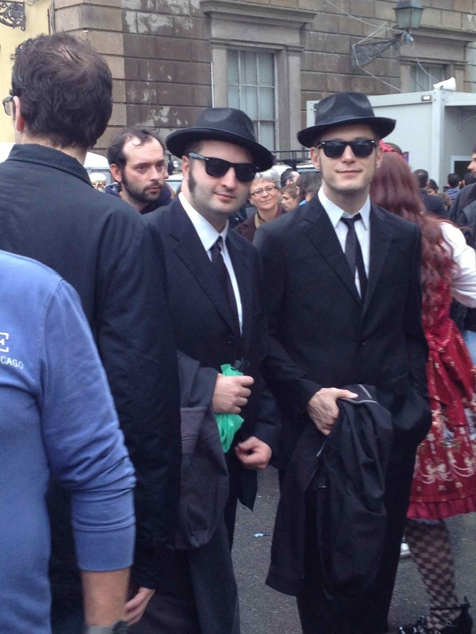 FumettologicaCosplayerBluesBrothers