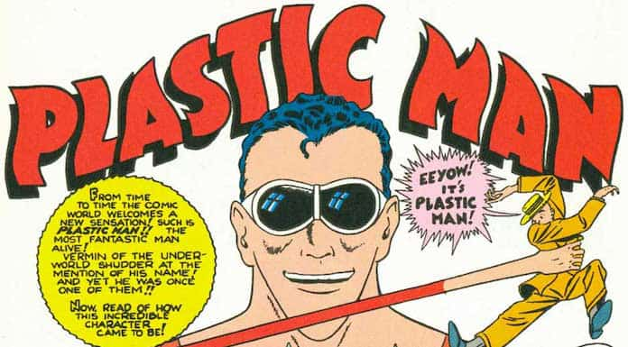 jack cole plastic man film
