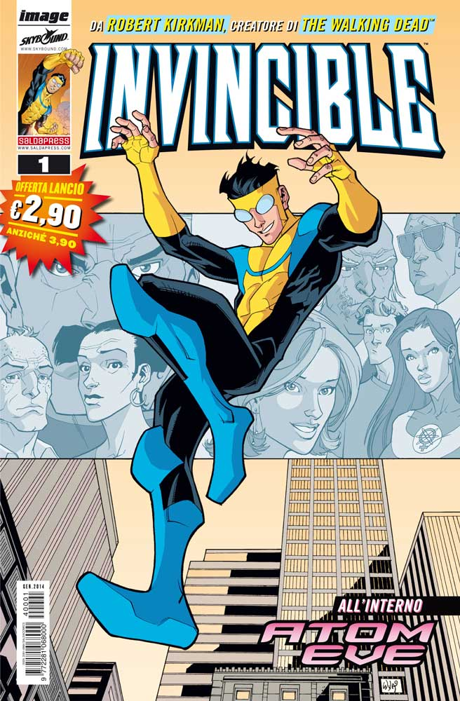 Invincible kirkman saldapress