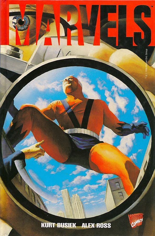 Marvels kurt busiek Alex Ross