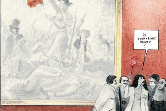 graphic-novel-einmal-louvre-david-prudhomme-reprodukt-verlag-comic-louvre