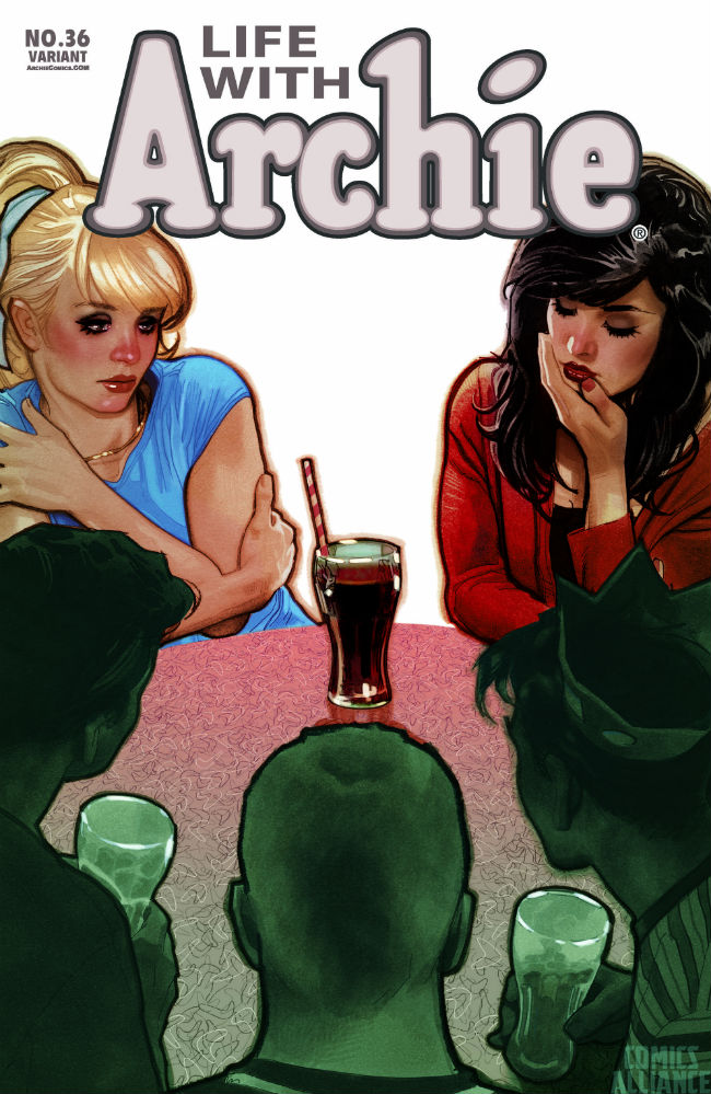 adam hughes life with archie 36