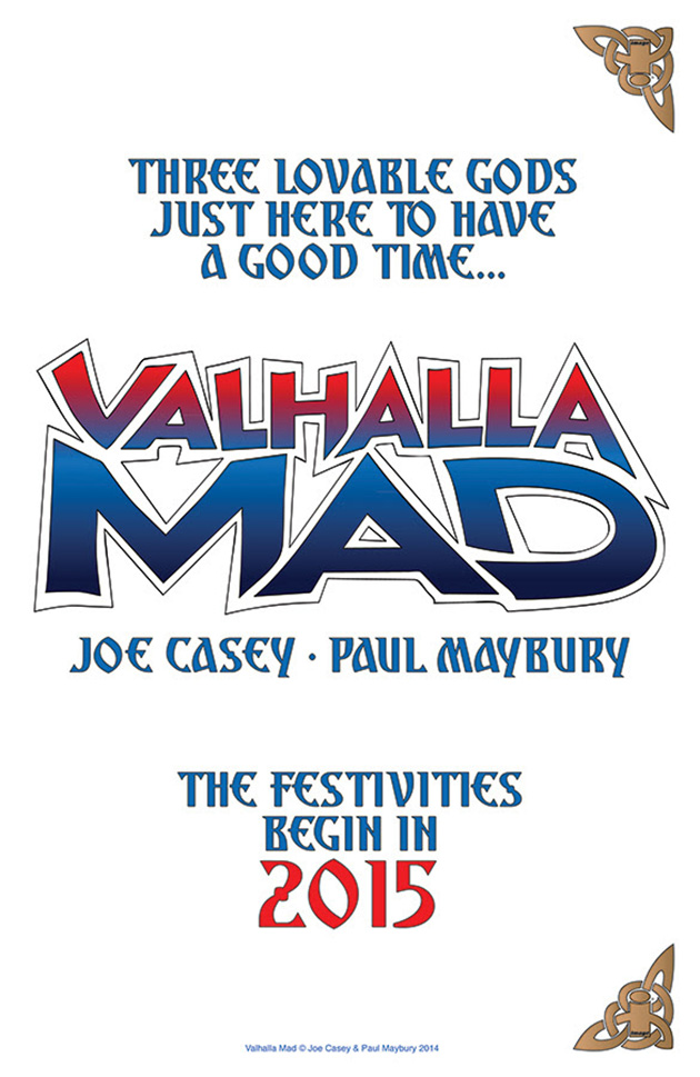 VALHALLA MAD Joe Casey, Paul Maybury