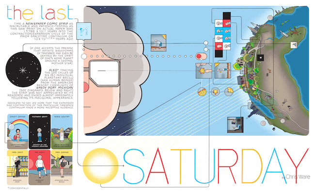 Last Saturday Chris Ware