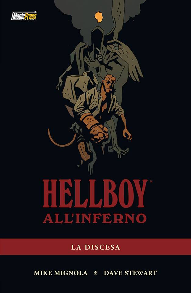 hellboy in hell magic press