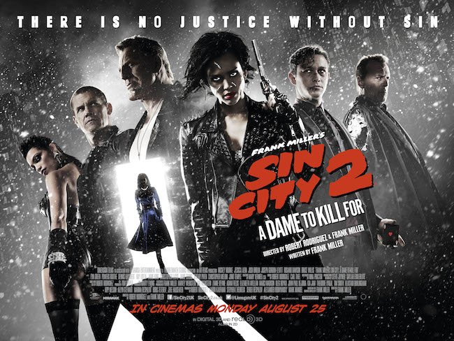 Poster di Sin City: A Dame to Kill For © Dimension Films, 2014