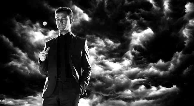 Johnny (Joseph Gordon Lewitt) in Sin City – A Dame to Kill For © Dimension Films, 2014.