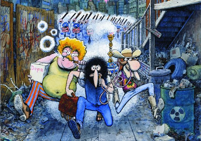 Gilbert Shelton Freak Brothers