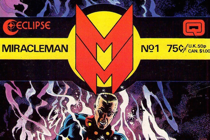 miracleman alan moore eclips comics