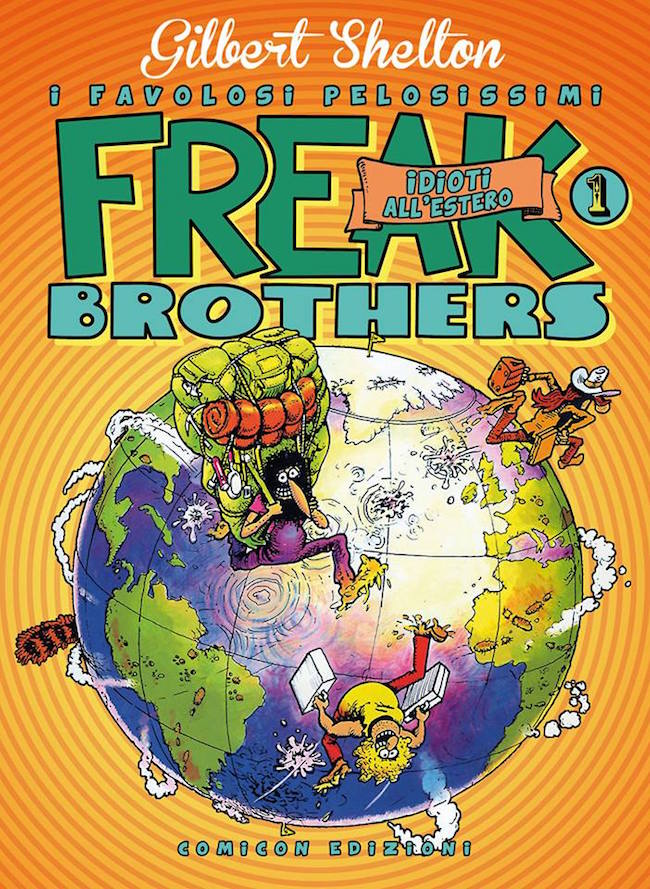 shelton freak brothers comicon