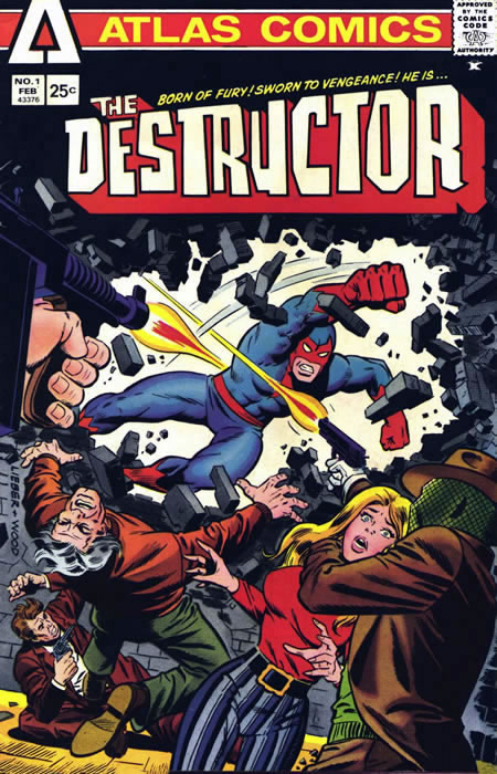 The Destructor #1: testi di Archie Goodwin, disegni di Steve Ditko e Wally Wood, copertina di Larry Lieber e Wally Wood