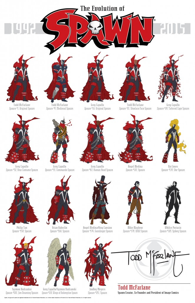 spawn evolution
