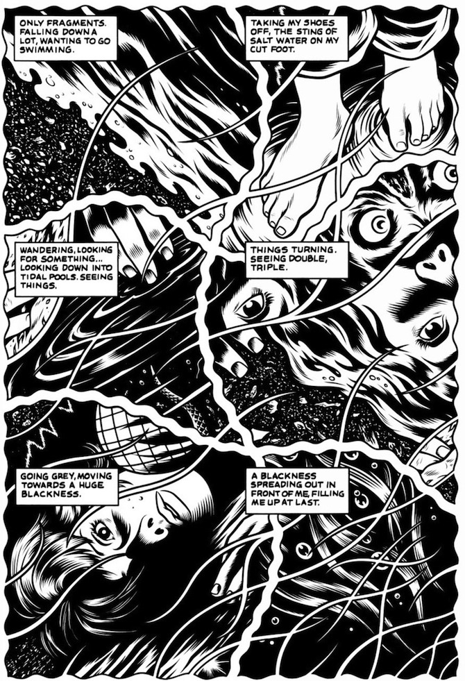 black hole charles burns graphic novel