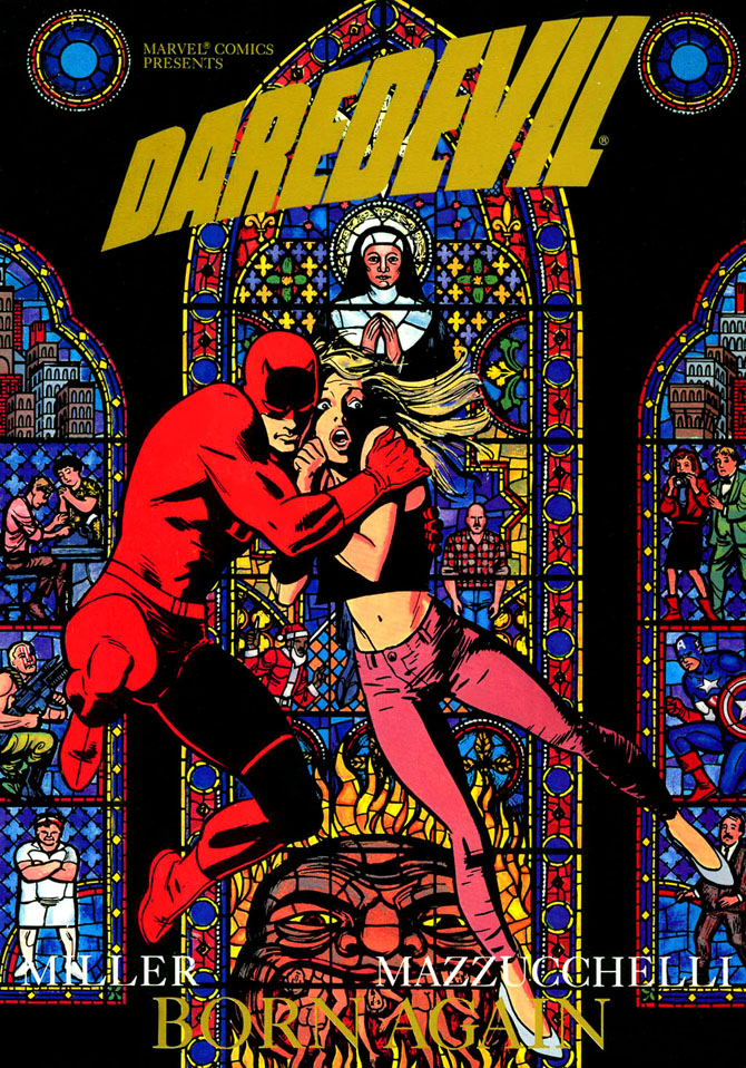 daredevil born again devil frank miller david mazzucchelli