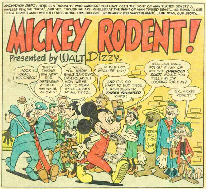 mickey rodent