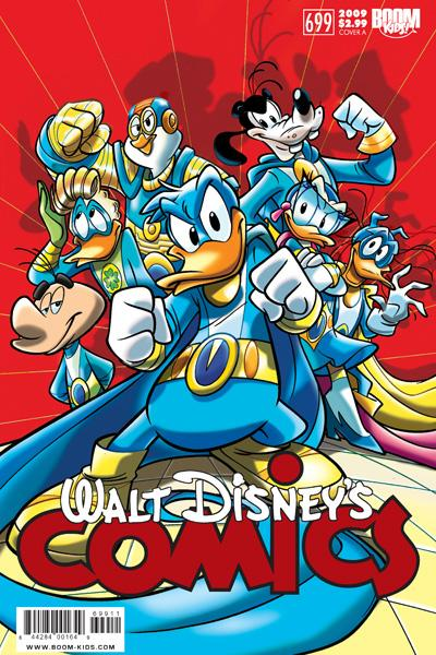 Gli Ultraheroes su Walt Disney's Comics and Stories