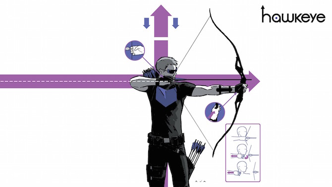 hawkeye marvel matt fraction david aja fumetto