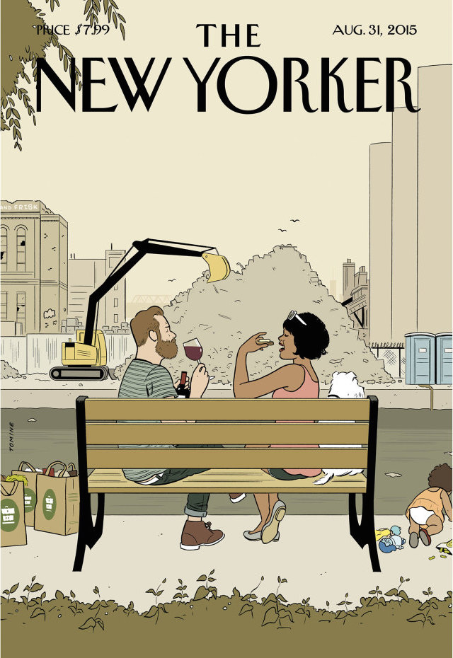 New Yorker Adrian Tomine agosto 2015