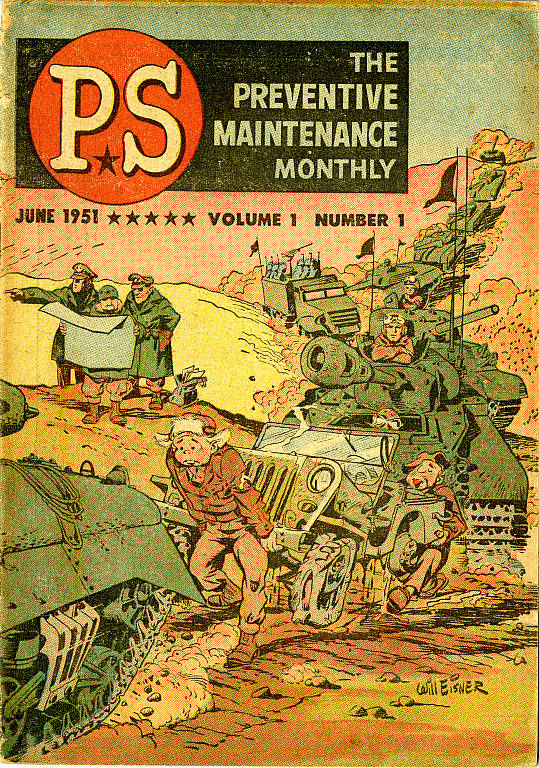 PS Magazine n.1, 1 June 1951