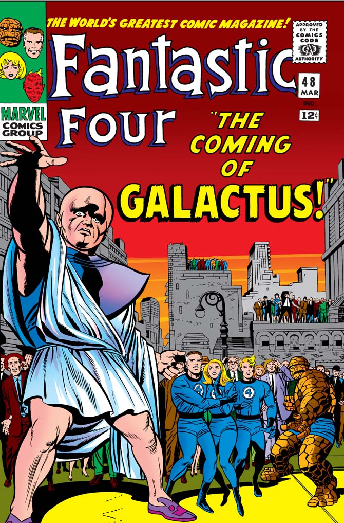 fantastic four 48 stan lee storie