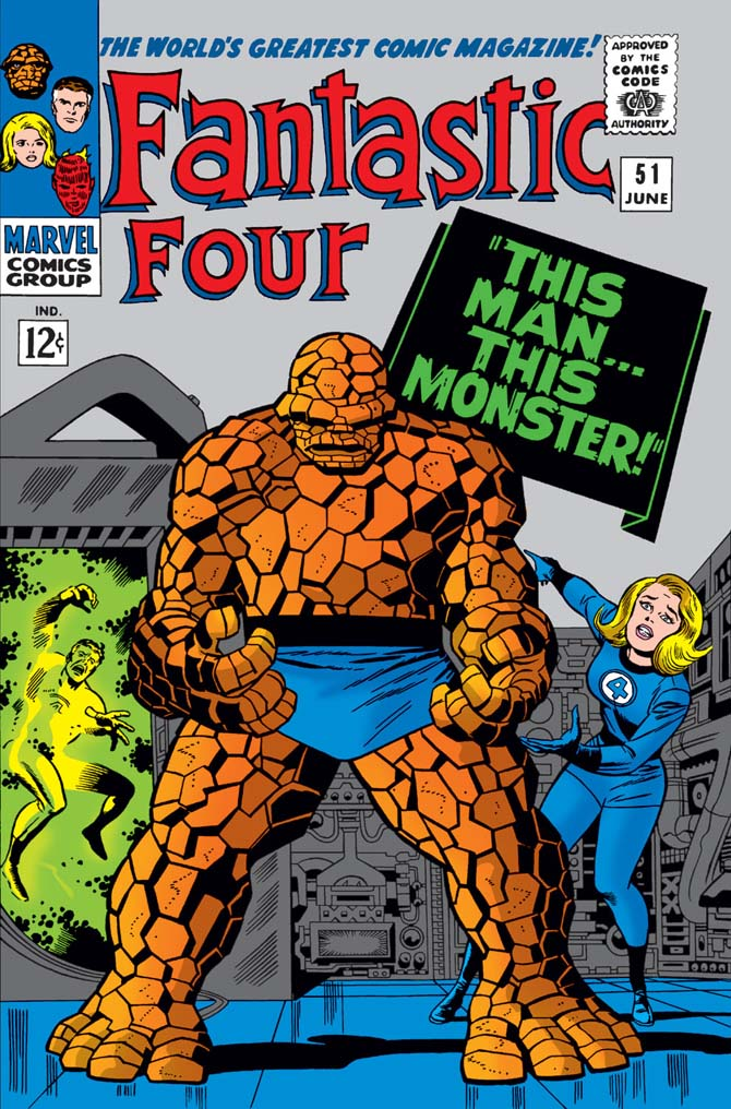 fantastic four 51 stan lee storie