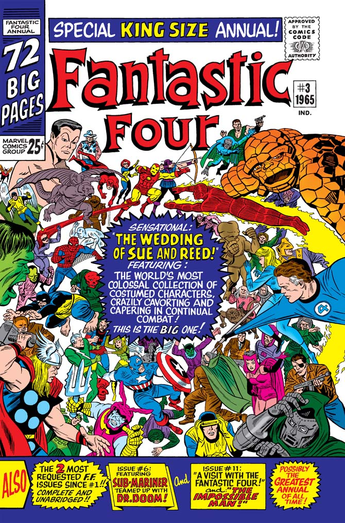 fantastic four annual 3 stan lee storie