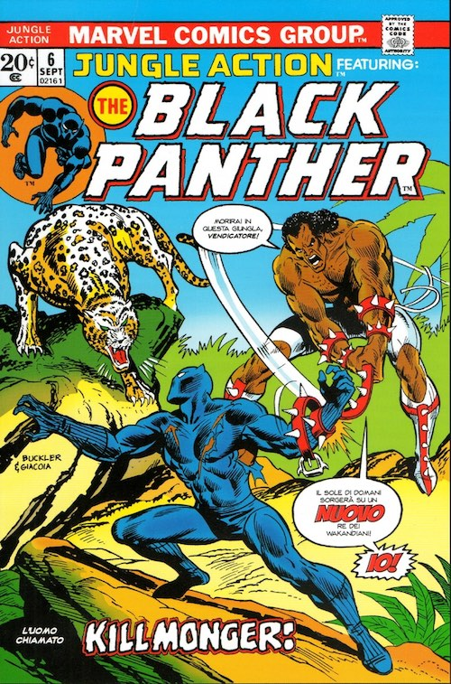 Jungle Action 6, copertina di Rich Buckler