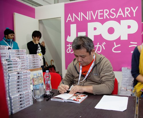 Nighthow durante le signing session a Lucca Comics 2015 | © J-Pop