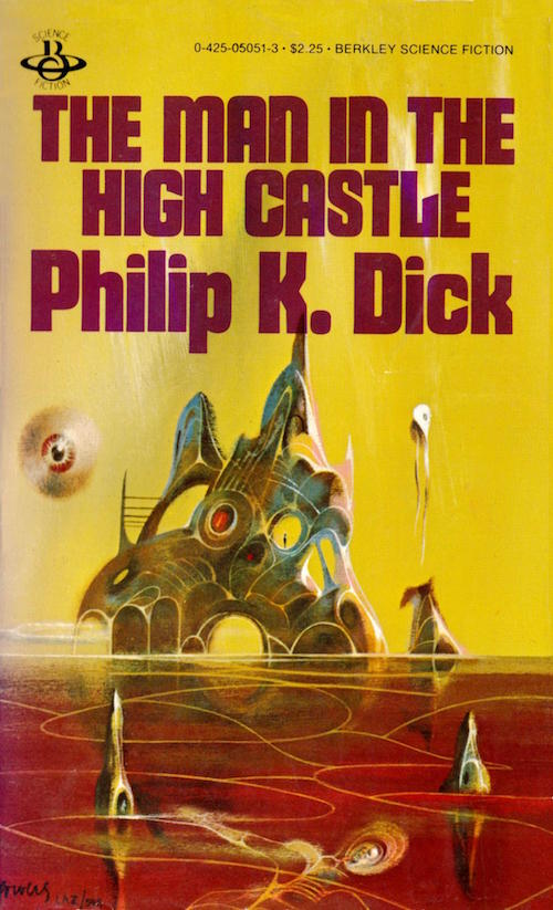 Illustrazione di Richard Powers, per un'edizione del romanzo 'The man in the high castle' di Philip K. Dick.