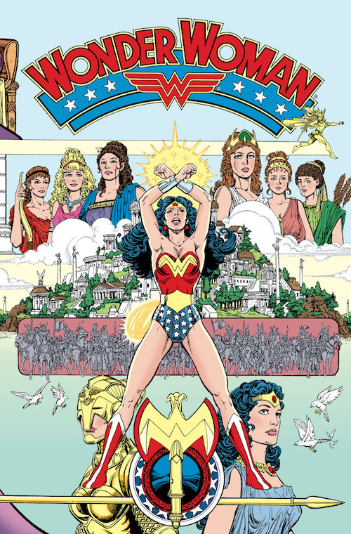 Copertina di George Pérez per 'Wonder Woman' Vol 2 #1, DC Comics, 1987