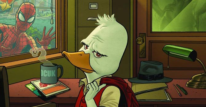 howard the duck serie animate marvel hulu