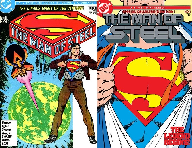 Variant Cover Man of Steel