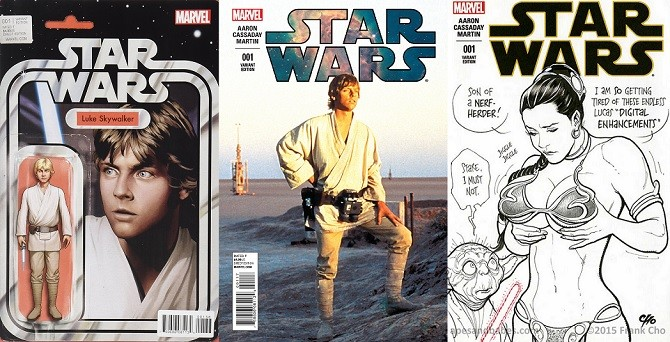 Variant Cover Star Wars #1