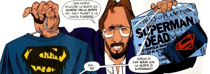 morte di superman roger stern