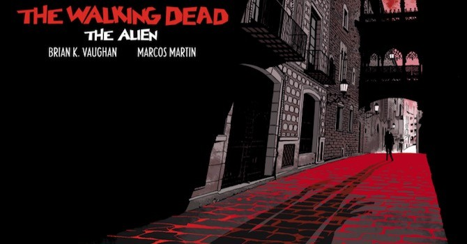 walking dead alien brian k. vaughan martin