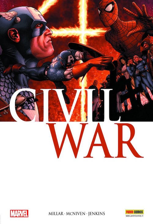 civil war mark millar fumetto marvel