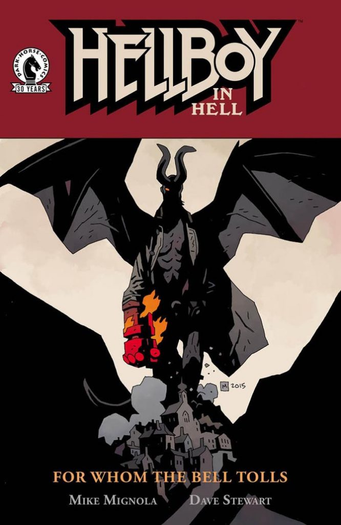 hellboy in hell 10 cover