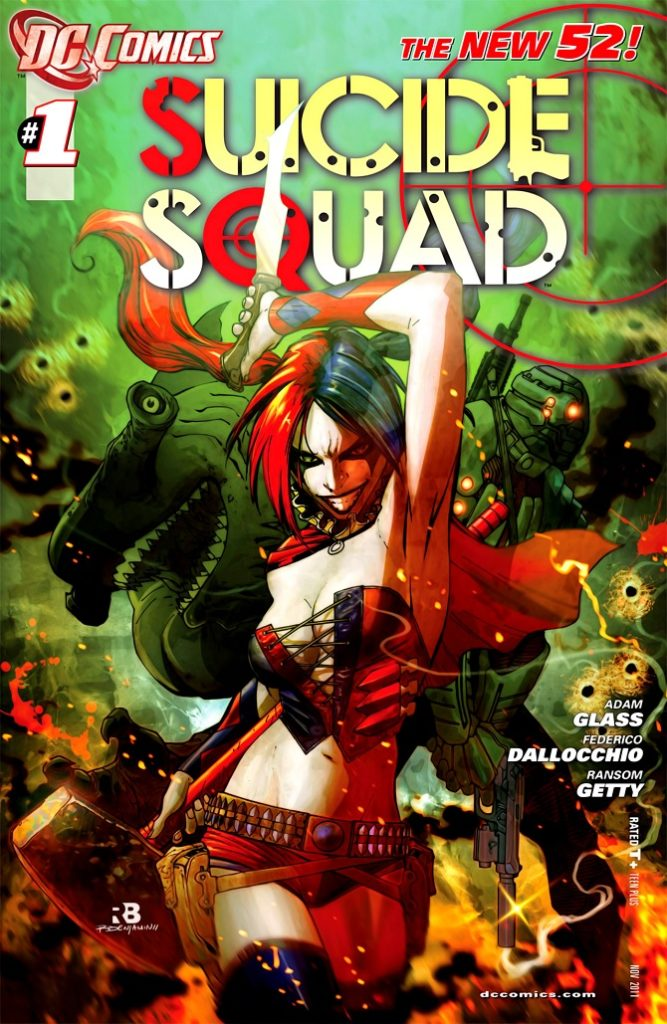 suicide squad 52 harley quinn