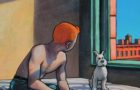 Tintin come in quadri di Edward Hopper