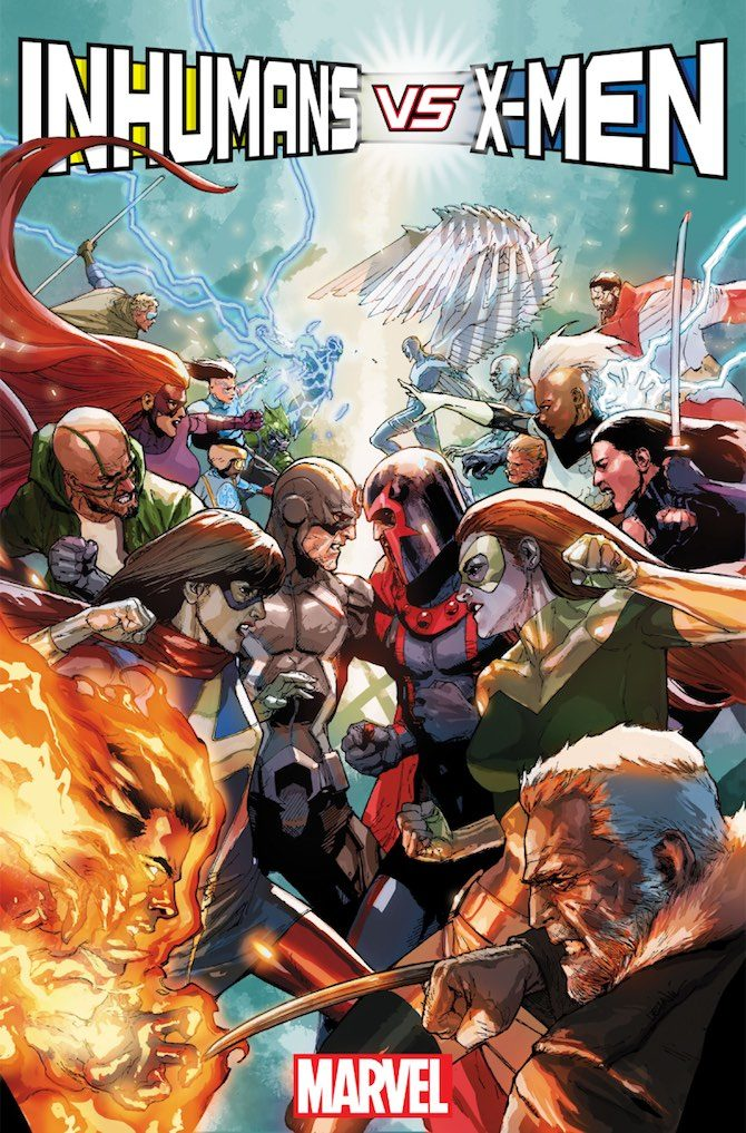 x-men inumani Inhumans vs. X-Men