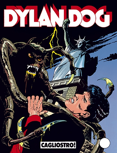 dylan dog 18 Cagliostro