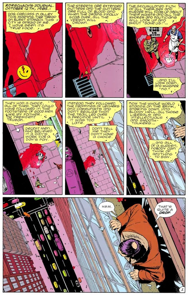watchmen dave gibbons
