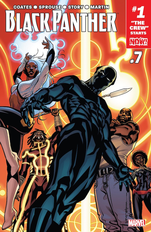black panther marvel now