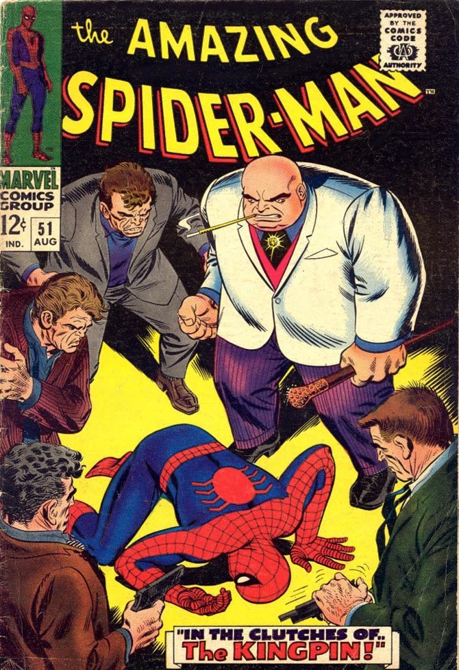 kingpin amazing spider-man 51