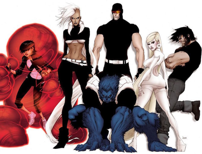 x-men kaare andrews