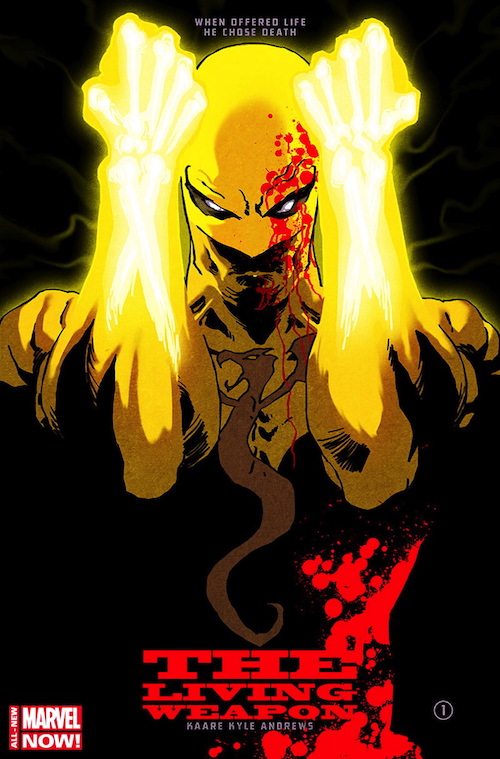 iron fist andrews
