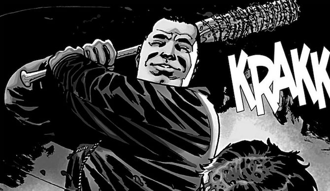 charlie adlard walking dead negan