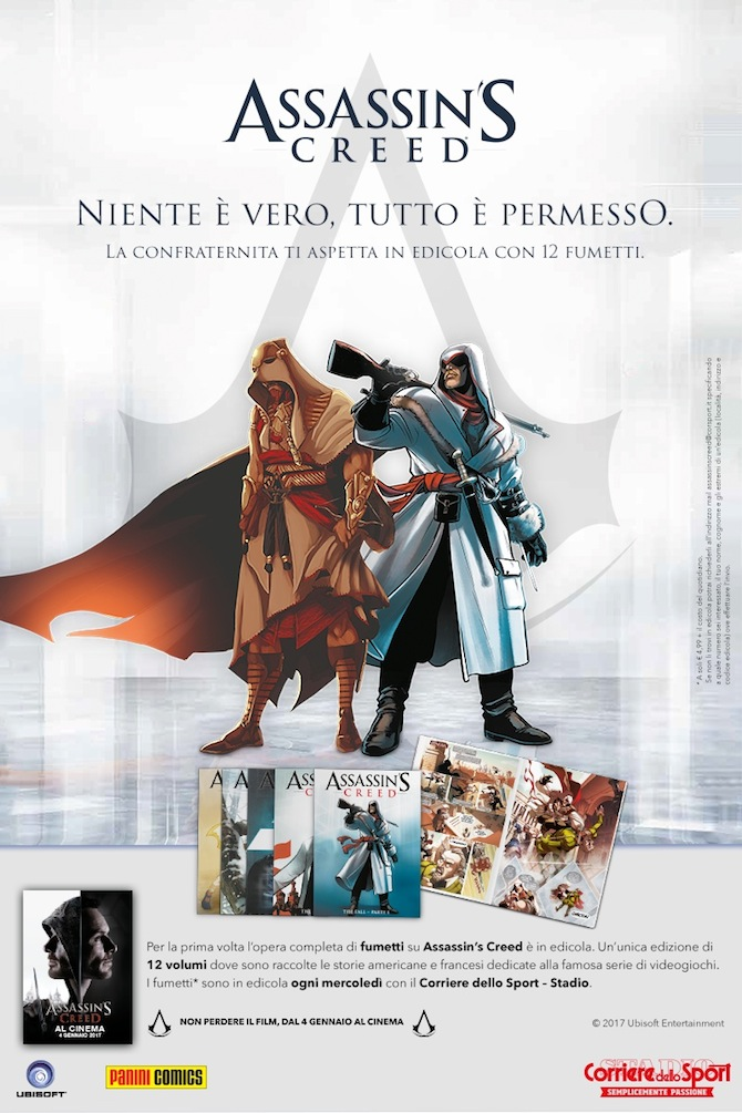assassins creed corriere