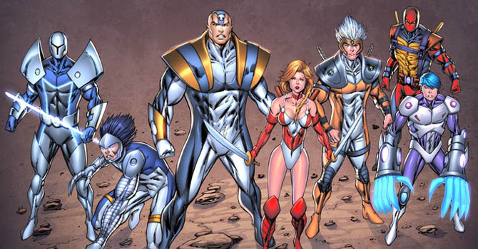 brigade rob liefeld netflix extreme universe