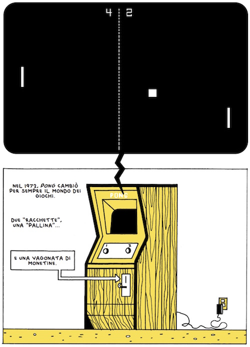 tetris fumetto box brown